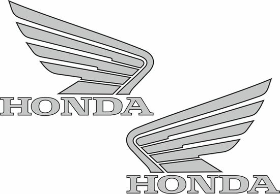 Picture of Honda replacement Fuel Tank Decals / Stickers