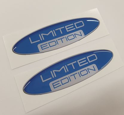 "Picture of ""Limited Edition"" 100mm adhesive Badges"