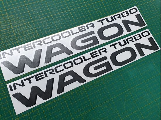 Picture of Mitsubishi Pajero /  shogun Wagon replacement side Decals / Stickers