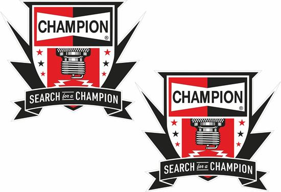 "Picture of ""Champion"" Decals / Stickers"