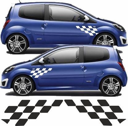 Picture of Renault Twingo Sport side Graphics / Stickers