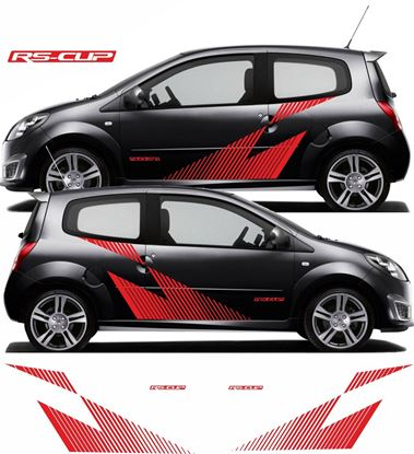 Picture of Renault Twingo RS Cup side Graphics / Stickers
