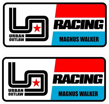 Picture of Urban Outlaw Racing Decals / Stickers