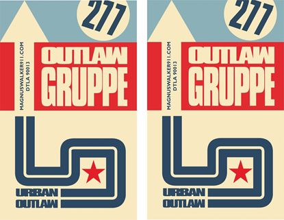Picture of Urban Outlaw Gruppe Decals / Stickers