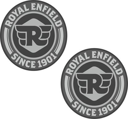 "Picture of ""Royal Enfield Since 1901"" Decals / Stickers"