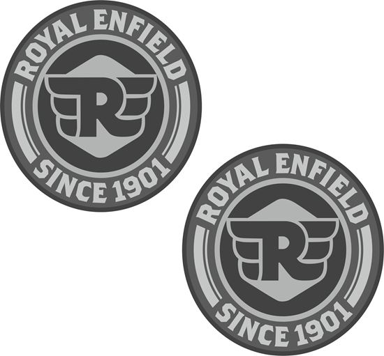 """Picture of """"Royal Enfield Since 1901"""" Decals / Stickers"""