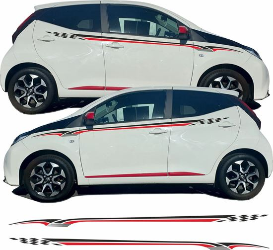 Picture of Toyota Aygo side Graphics / Stickers