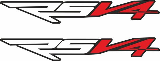 Picture of Aprilia RSV4 Decals / Stickers