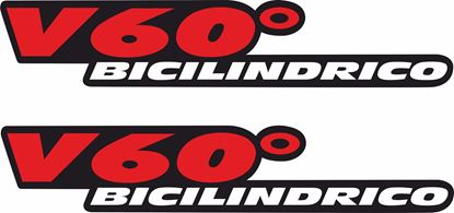 Picture of Aprilia RSV Mille R /988 V60 Bicilindrico Decals / Stickers