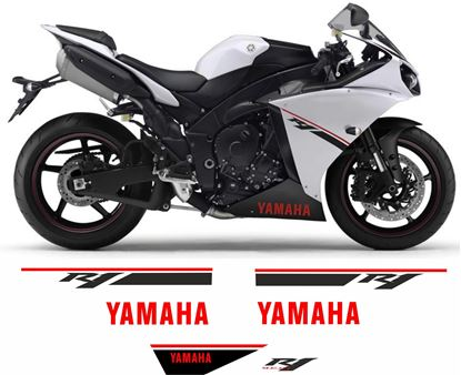 Picture of Yamaha YZF R1 2014 Replacement Decals / Stickers