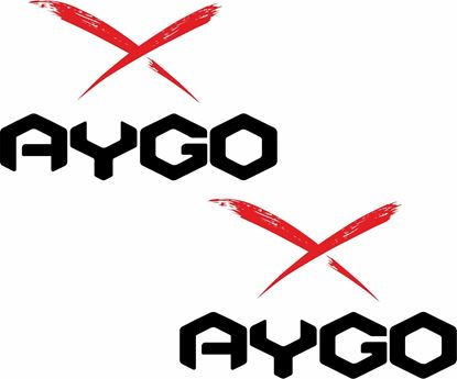 Picture of Toyota Aygo X Decals / Stickers