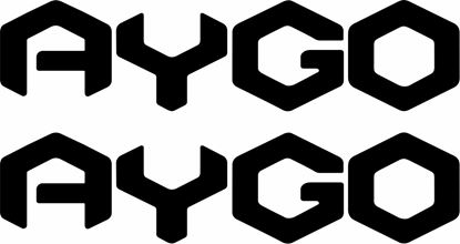Picture of Toyota Aygo Decals / Stickers