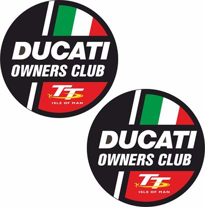 Picture of Ducati TT owners Club Decals / Stickers