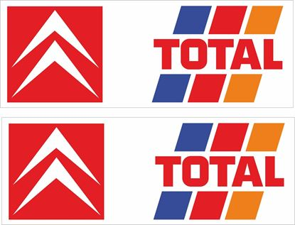 Picture of Citroen Total Decals / Stickers