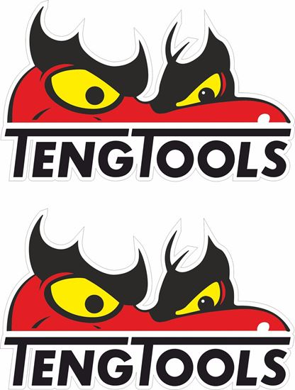 """Picture of """"Teng Tools"""" Decals / Stickers"""