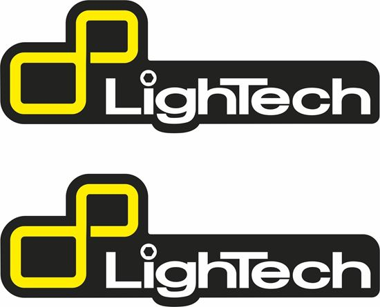 """Picture of """"LighTec""""  Track and street race sponsor Decals / Stickers"""