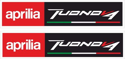 Picture of Aprilia Tuono V4 Decals / Stickers