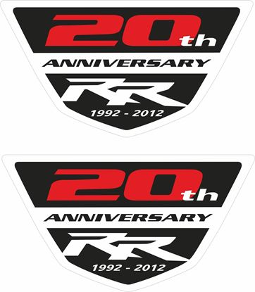 Picture of Honda CBR RR 20th Anniversary Decals / Stickers