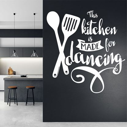 "Picture of ""This Kitchen is made..""  Wall Art sticker"