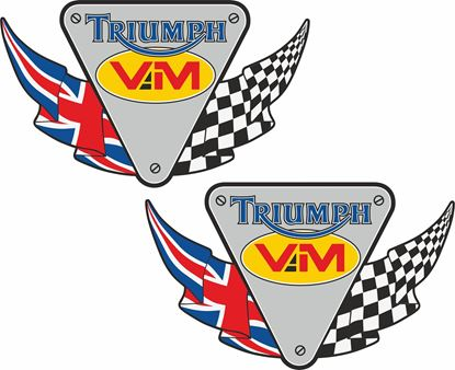 "Picture of ""Triumph VM"" Decals / Stickers"