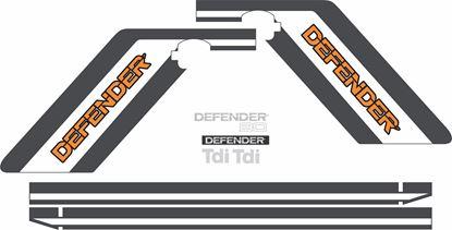 Picture of Defender 90 Tdi full restoration Decals / Stickers