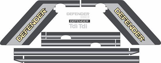 Picture of Defender 110 5 Door Tdi full restoration Decals / Stickers