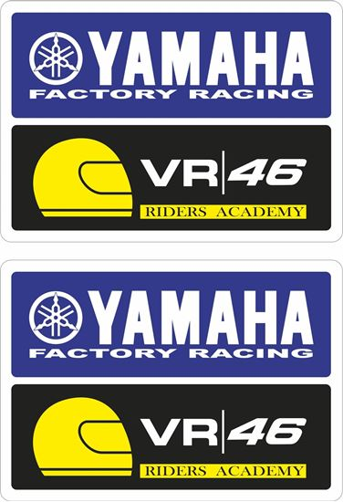 Picture of Yamaha Factory Racing Decals / Stickers