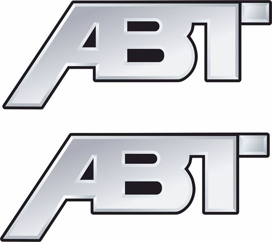 "Picture of ""ABT"" Decals / Stickers"