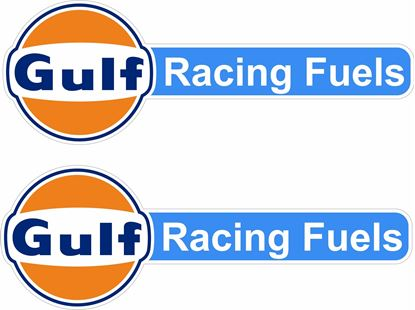 Picture of Gulf Racing Fuels Decals / Stickers