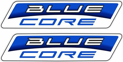 "Picture of ""Blue Core"" Track and street race sponsor Decals / Stickers"