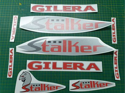 Picture of Gilera Scooter Stalker replacement Decals / Stickers