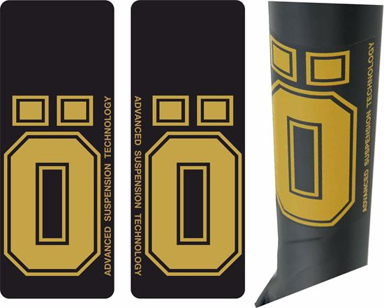 Picture of Ohlins replacement Shock Decals / Stickers