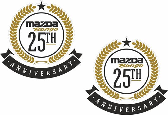 Picture of Mazda Bongo 25th anniversary Decals / Stickers