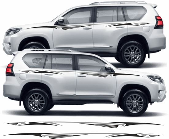 Picture of Toyota Land Cruiser side Decals / Stickers