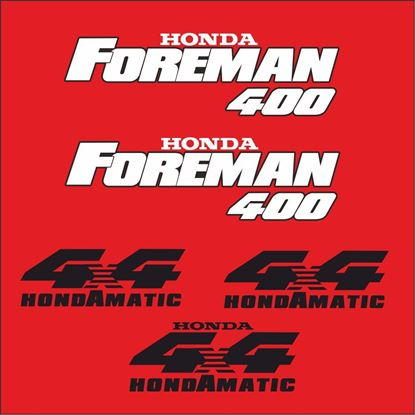 Picture of Honda Forman 400 replacement Decals / Stickers