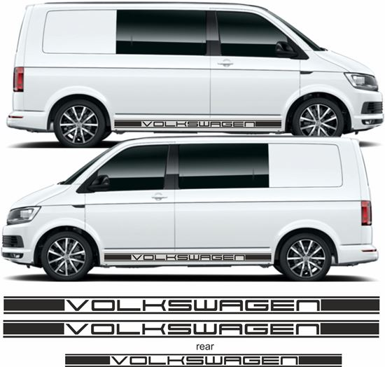 Picture of VW T5 / T6 side & rear Stripes / Stickers