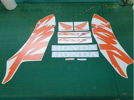 Picture of Honda CBR 600F 1999 - 2000 Replacement Decals / Stickers