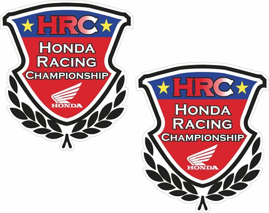 "Picture of Honda ""HRC Honda Racing""  Decals / Stickers"