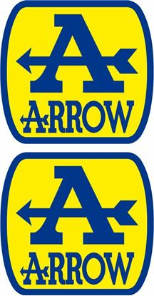 "Picture of ""Arrow"" Track and street race sponsor Decals / Stickers"