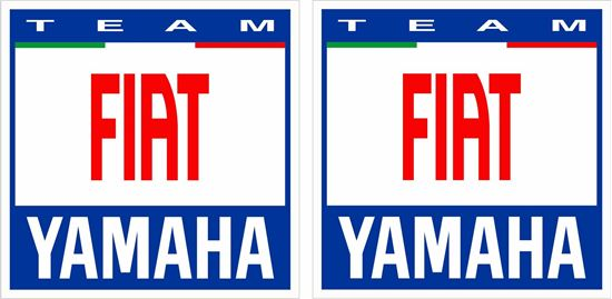 Picture of Yamaha Team Fiat Decals / Stickers