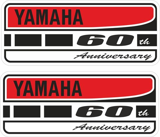 Picture of Yamaha 60th Anniversary Decals / Stickers