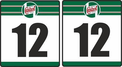 Picture of Castrol racing Door Numbers