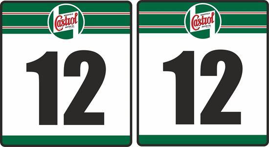 Picture of Castrol racing Door Numbers
