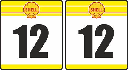Picture of Shell racing Door Numbers