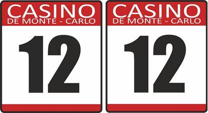Picture of Casino De Monte Carlo racing Door Numbers