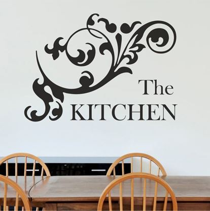 "Picture of ""The Kitchen""  Wall Art sticker"