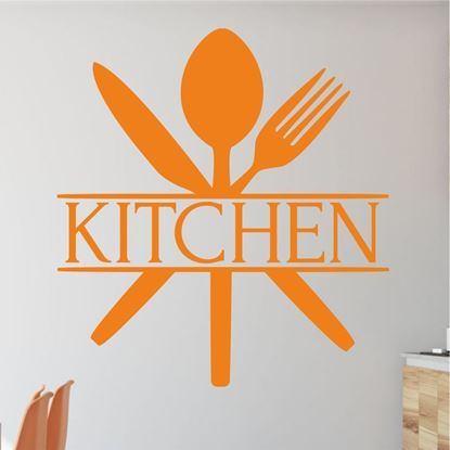 "Picture of ""Kitchen""  Wall Art sticker"