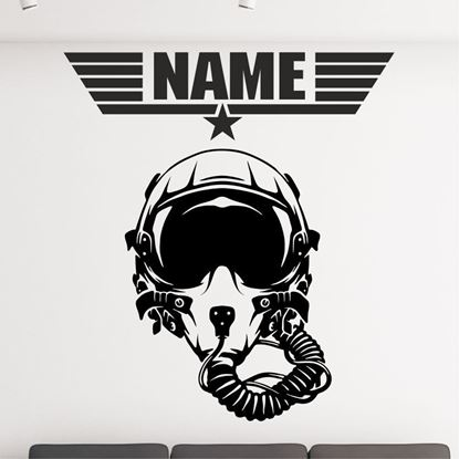 "Picture of ""Top Gun"" Wall Art sticker"
