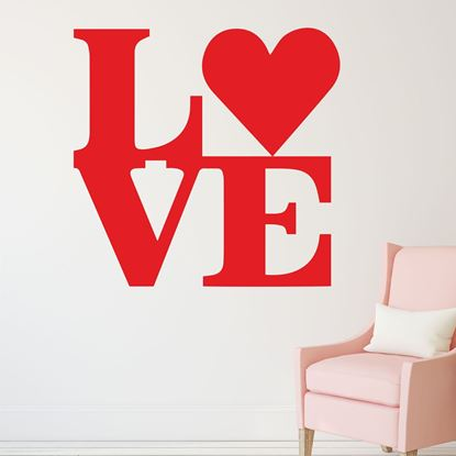 "Picture of ""Love""  Wall Art sticker"