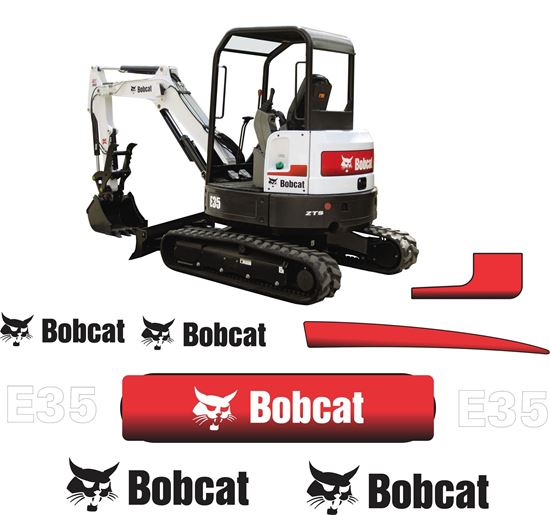 Picture of Bobcat E35 Replacement Decals / Stickers